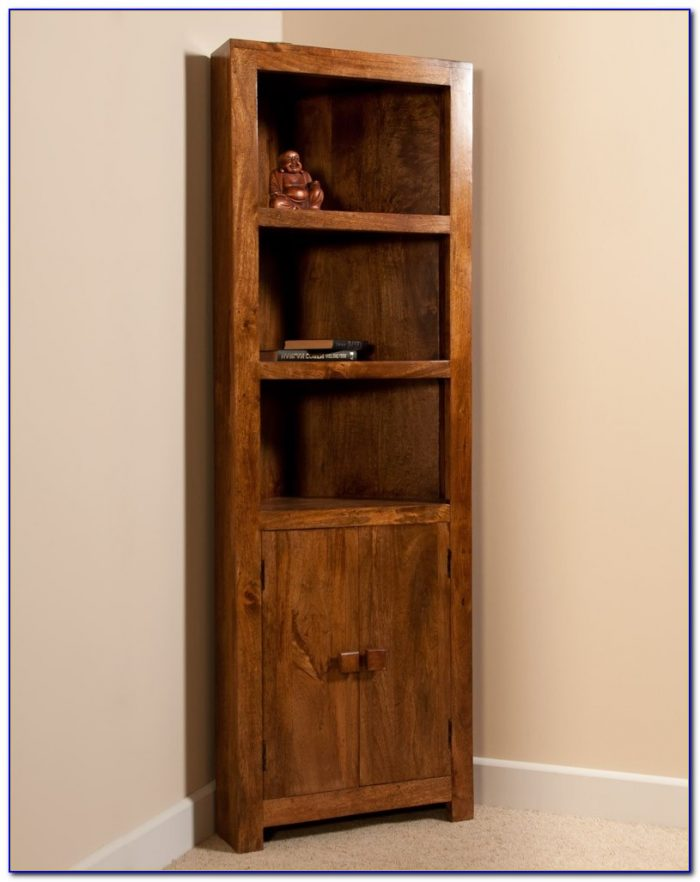 Large Corner Bookcase Unit