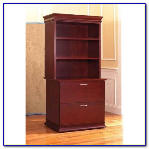 Lateral File Bookcase Combo