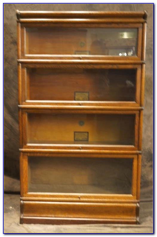 Lawyers Bookcase Antique