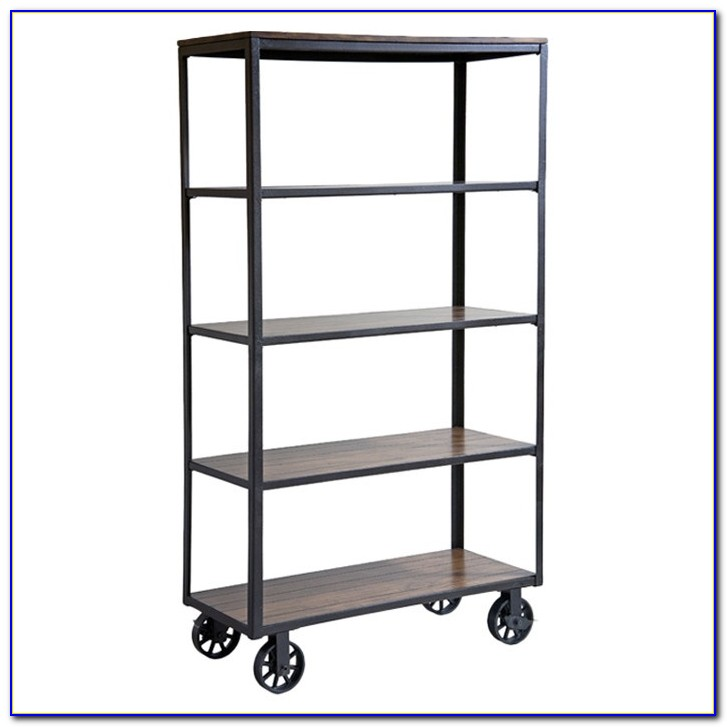 Library Bookcases On Wheels
