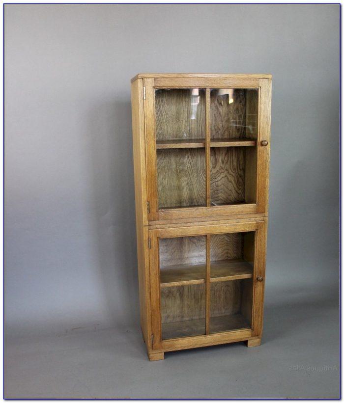 Light Oak Bookcase Headboard