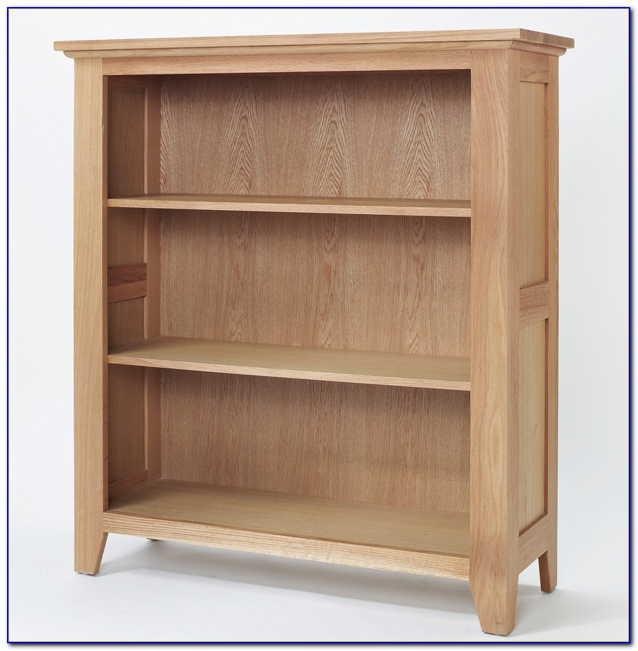 Light Oak Bookcase With Drawers