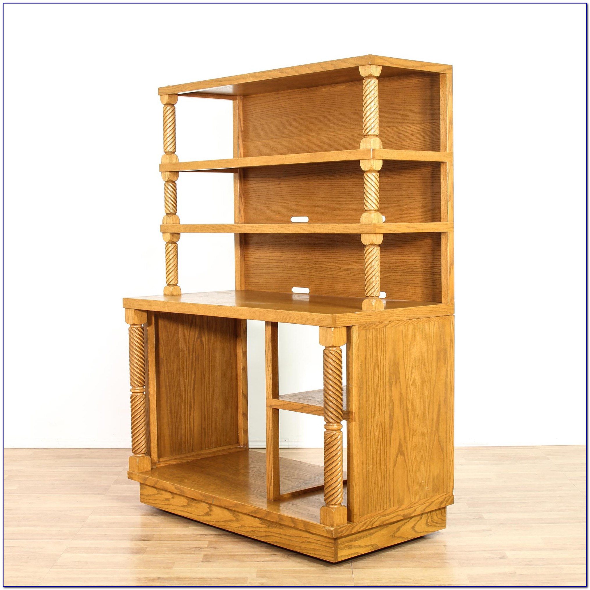 Light Oak Bookshelves
