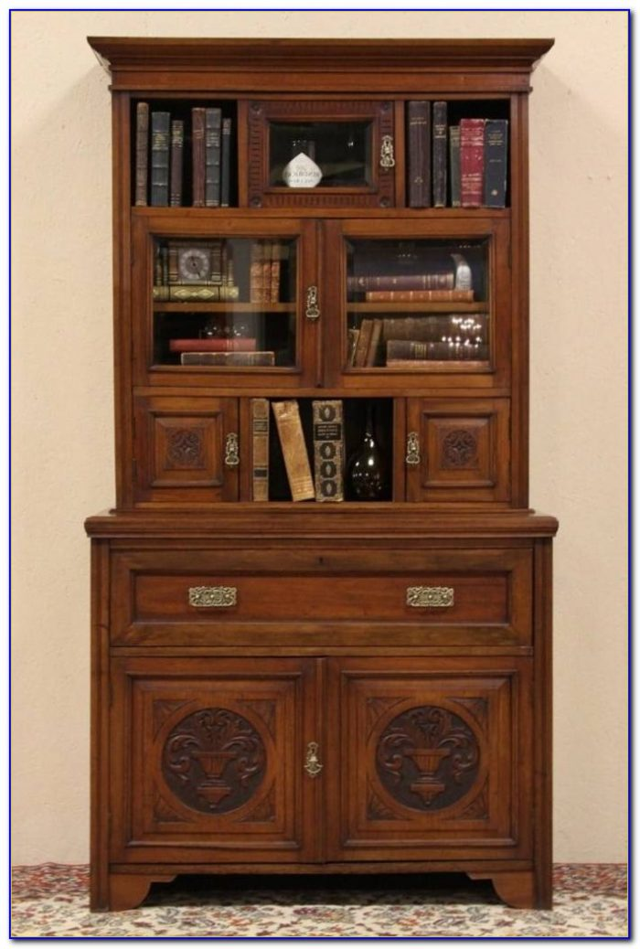 Maddox Secretary Desk Bookcase Claw