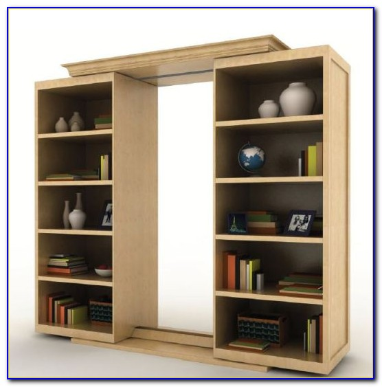 Make Sliding Bookcase Hidden Door