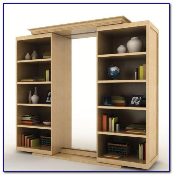 Make Sliding Bookcase Hidden Door