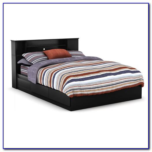 Mckenzie Queen Bookcase Storage Bed