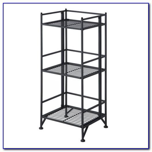 Metal Folding Bookshelf