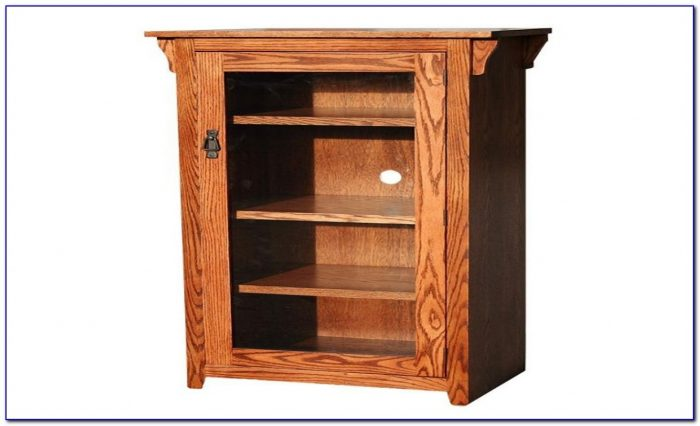 Mission Style Bookcase Oak