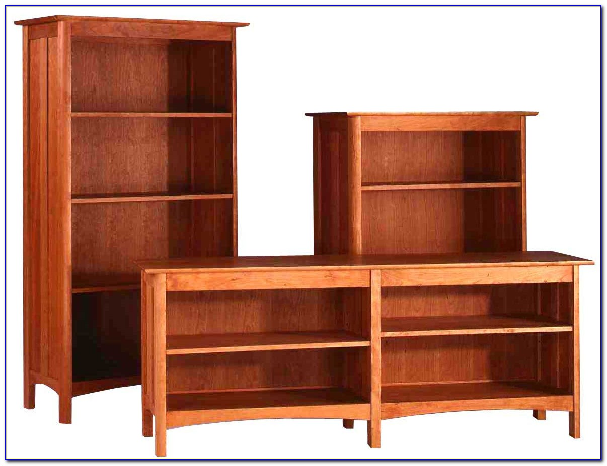 Mission Style Solid Wood Bookcase