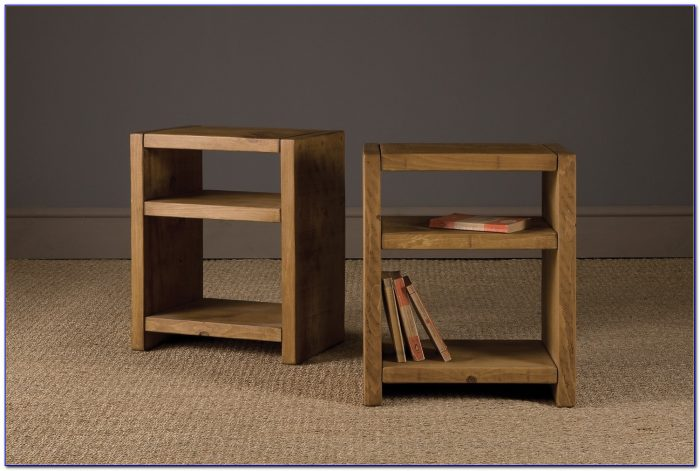 Modern Bookcase Side Table