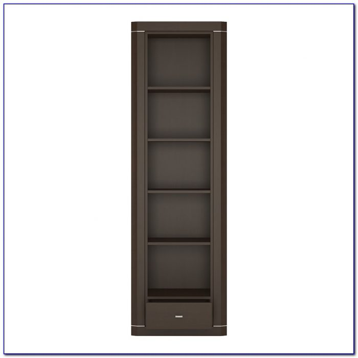 Narrow Bookcase With Storage