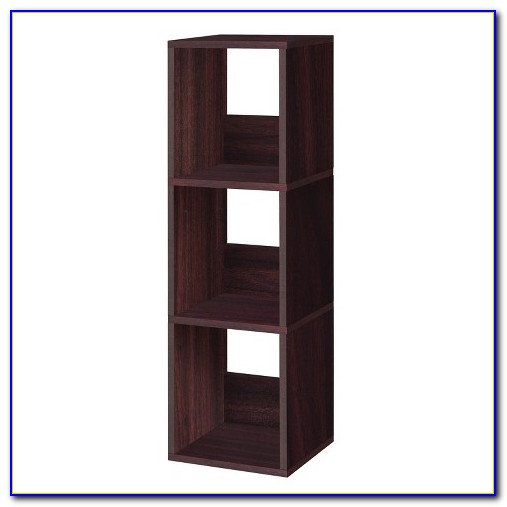 Narrow Cube Bookcase