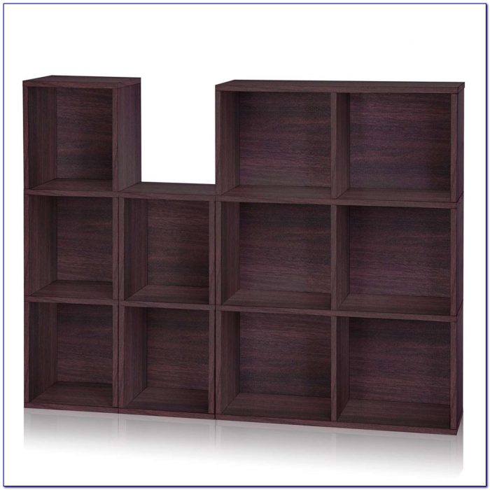 Narrow Cube Bookshelf