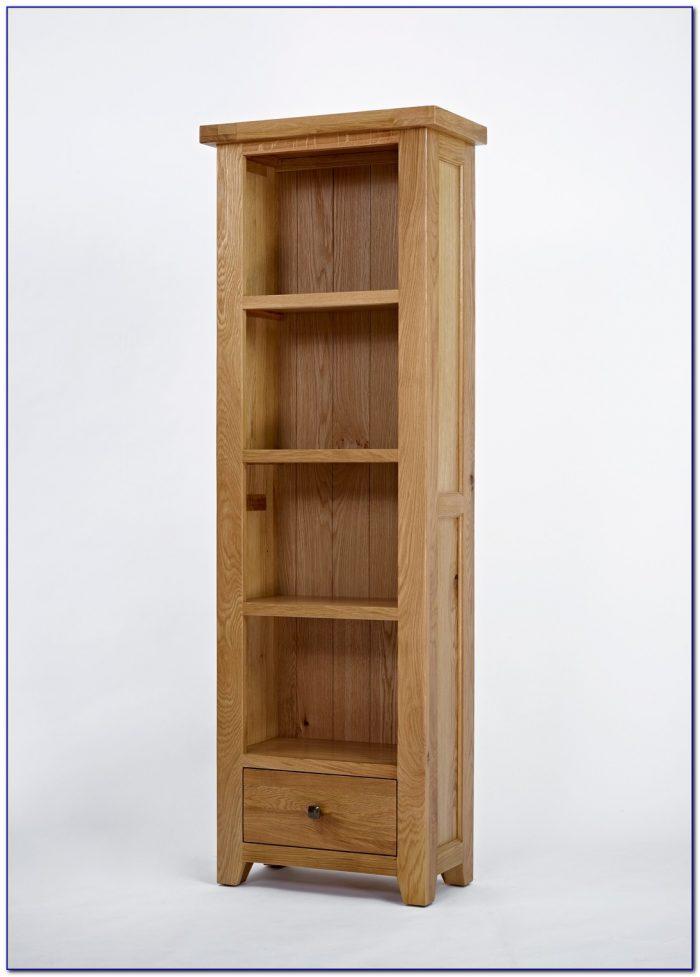 Narrow Oak Bookcase Furniture