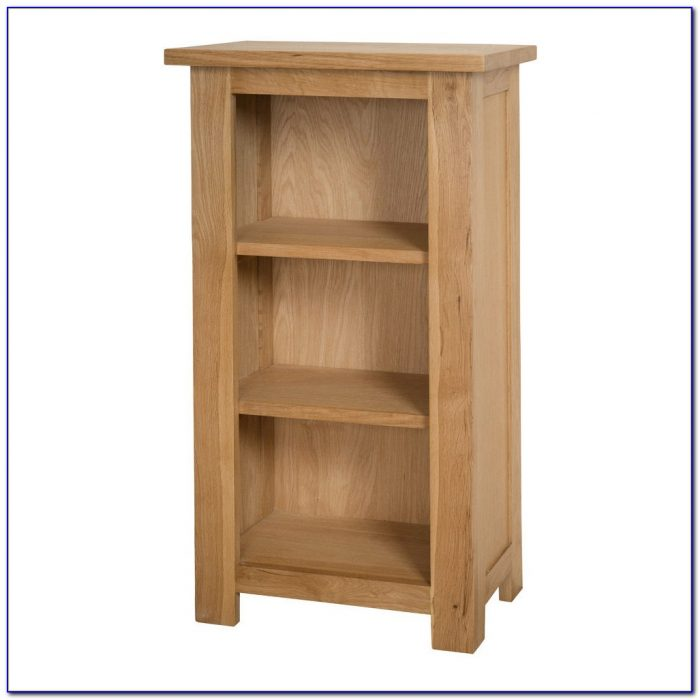 Narrow Short Bookcase