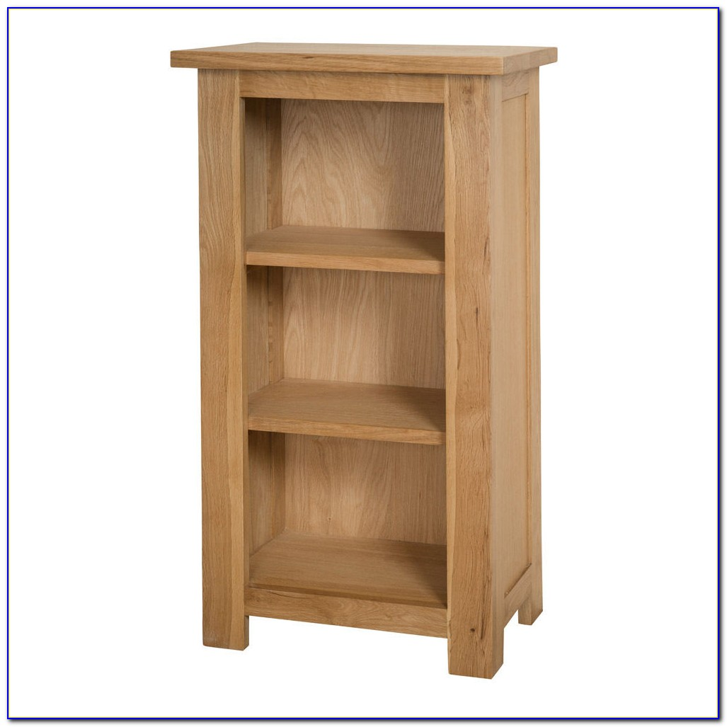 Narrow Short Bookcase