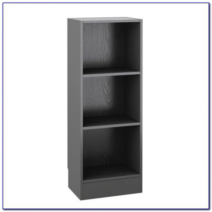 Narrow Wood Bookshelves