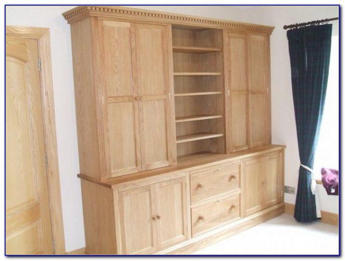 Oak Bookcase With Doors Uk
