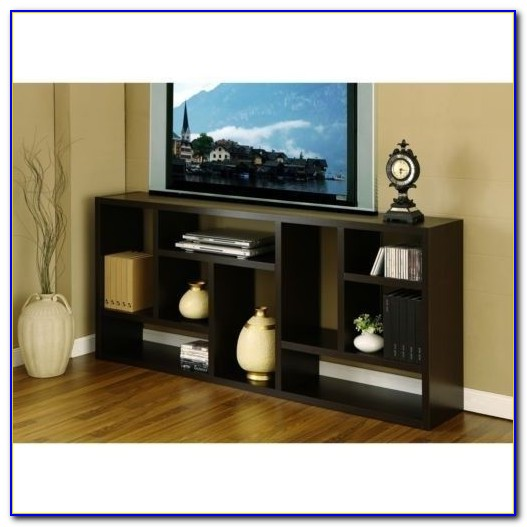 Oak Tv Stand And Bookcase