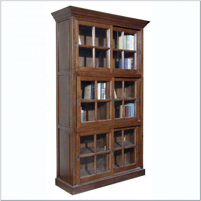 Oak Wood Bookshelves
