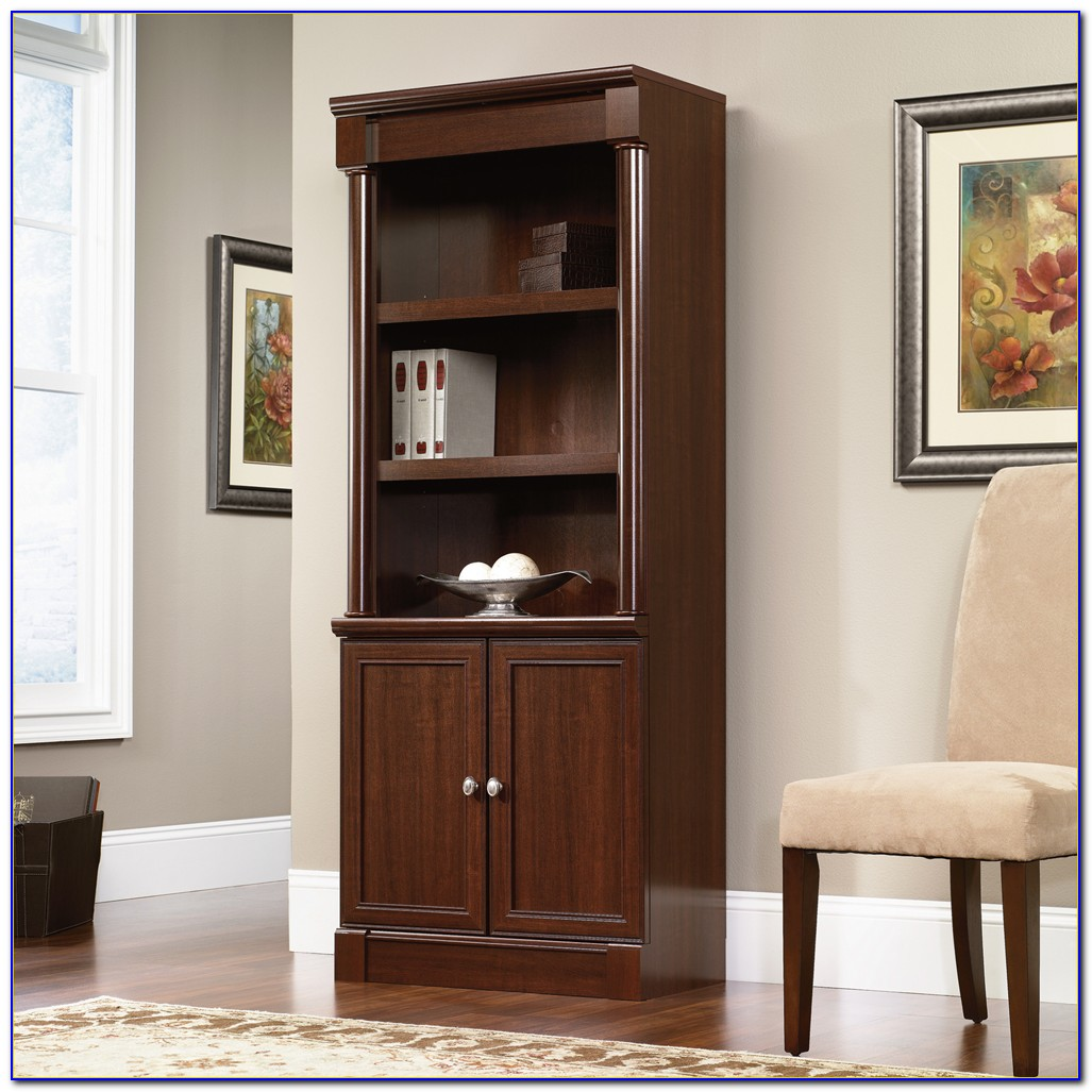 Office Bookcase With Doors