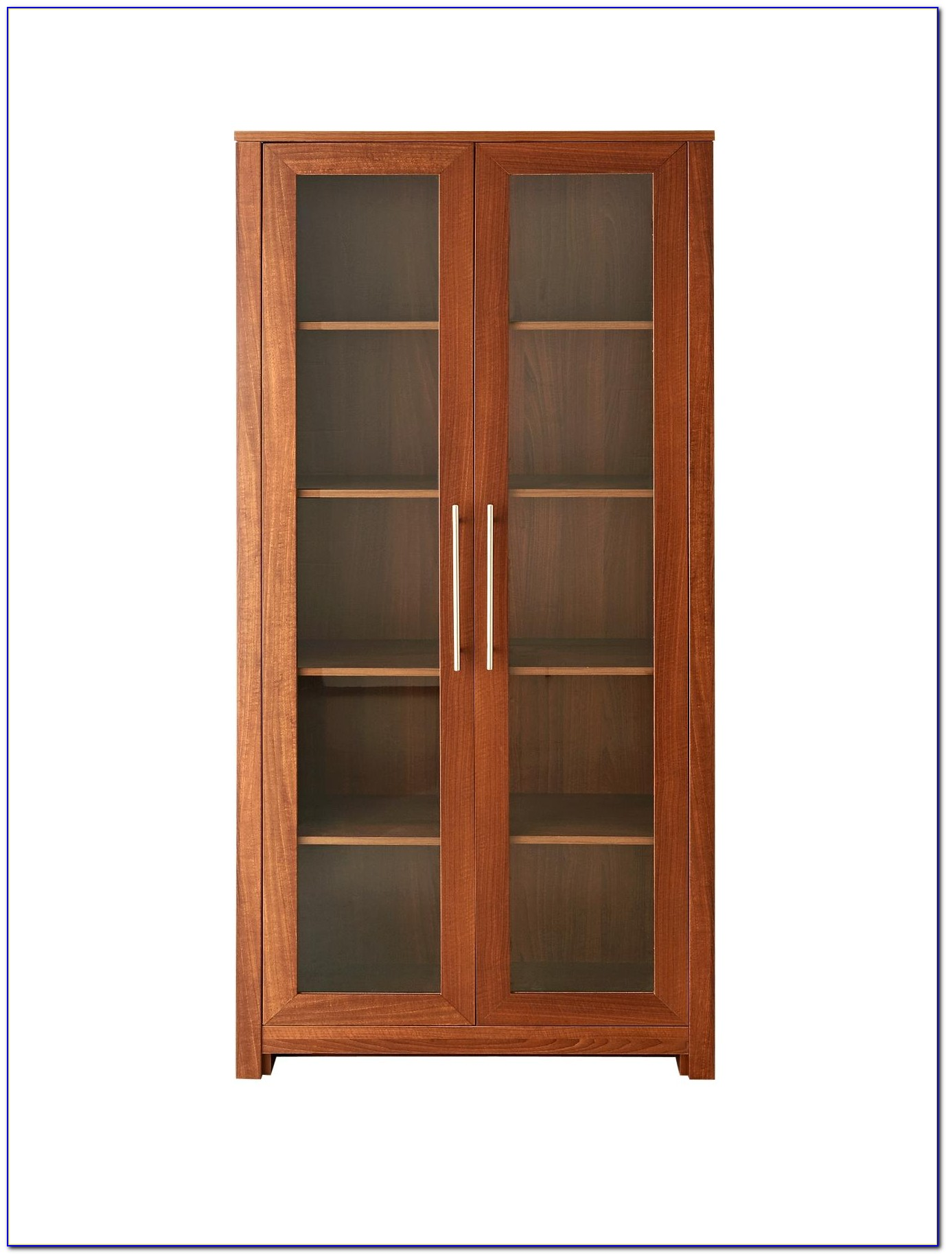 Office Bookcase With Glass Doors