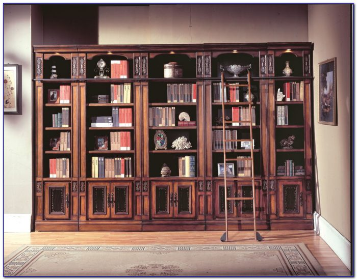Parker House Library Bookcases