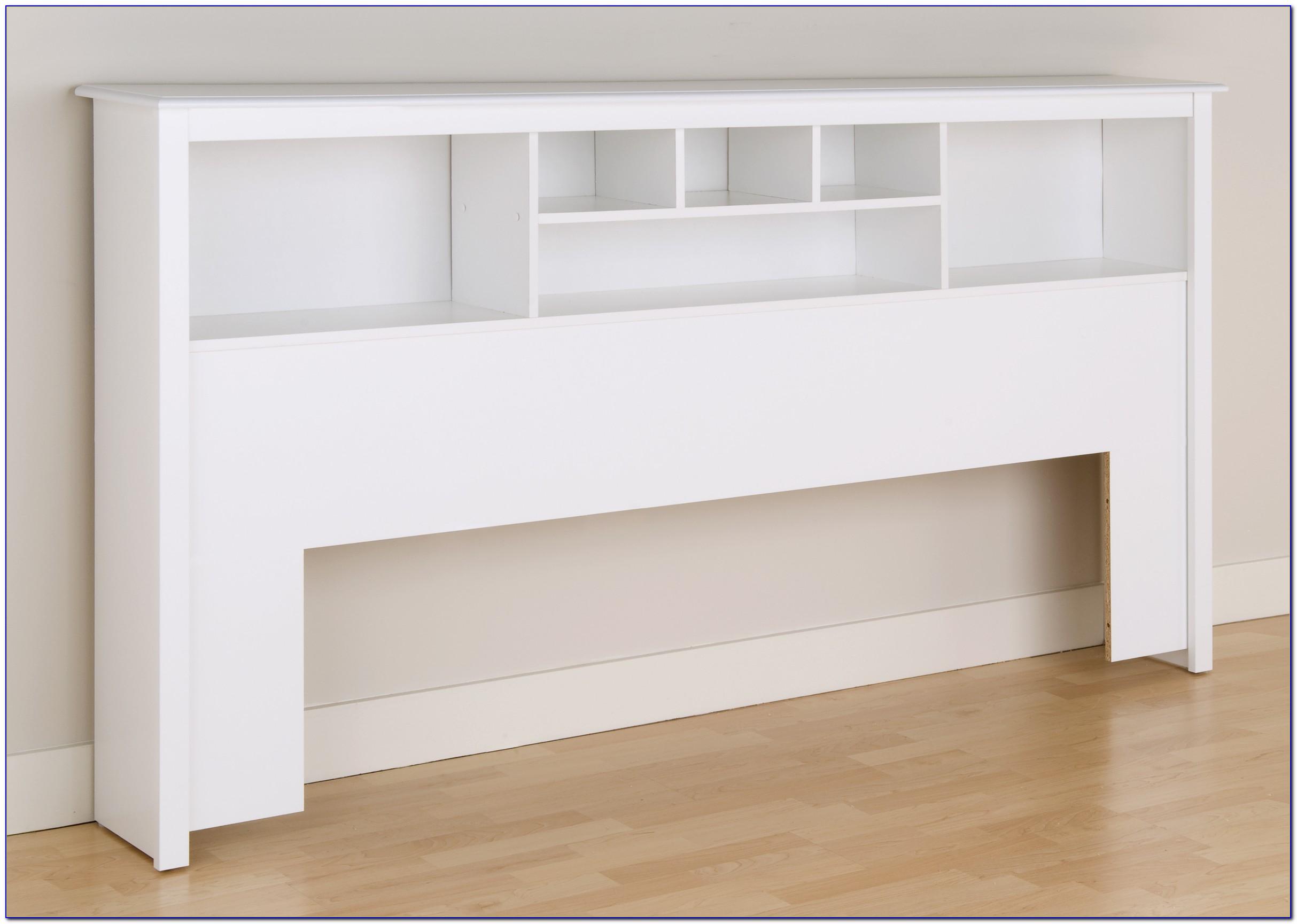 Queen Bookcase Headboard Bedroom Set