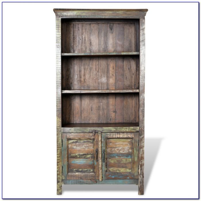 Reclaimed Wood Bookcase Australia