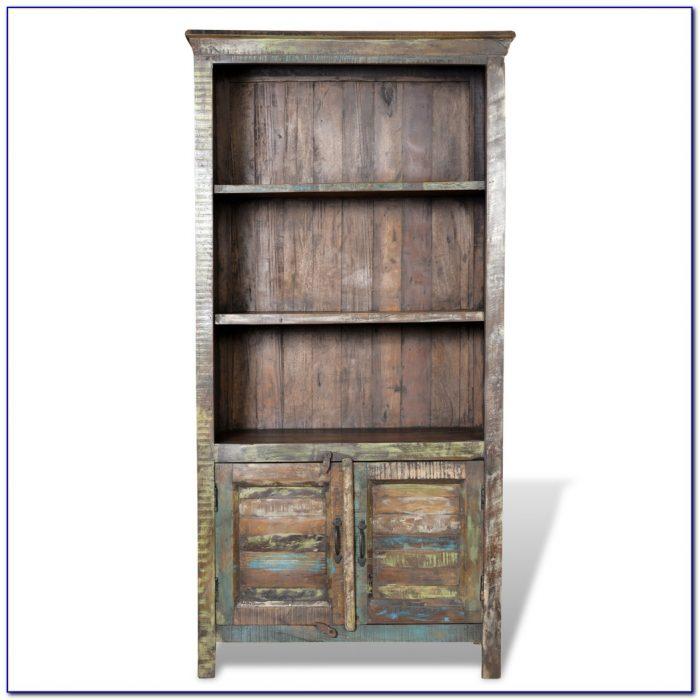 Reclaimed Wood Bookcase Australia