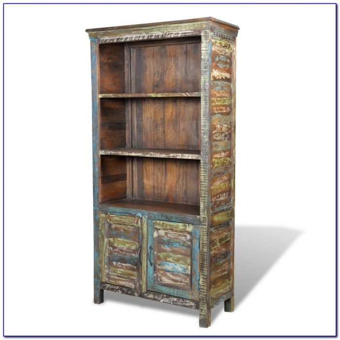 Reclaimed Wood Bookcase Canada