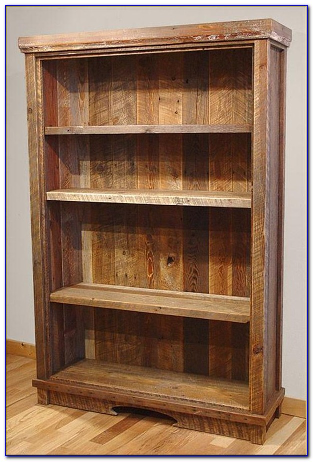 Reclaimed Wood Bookcase Diy