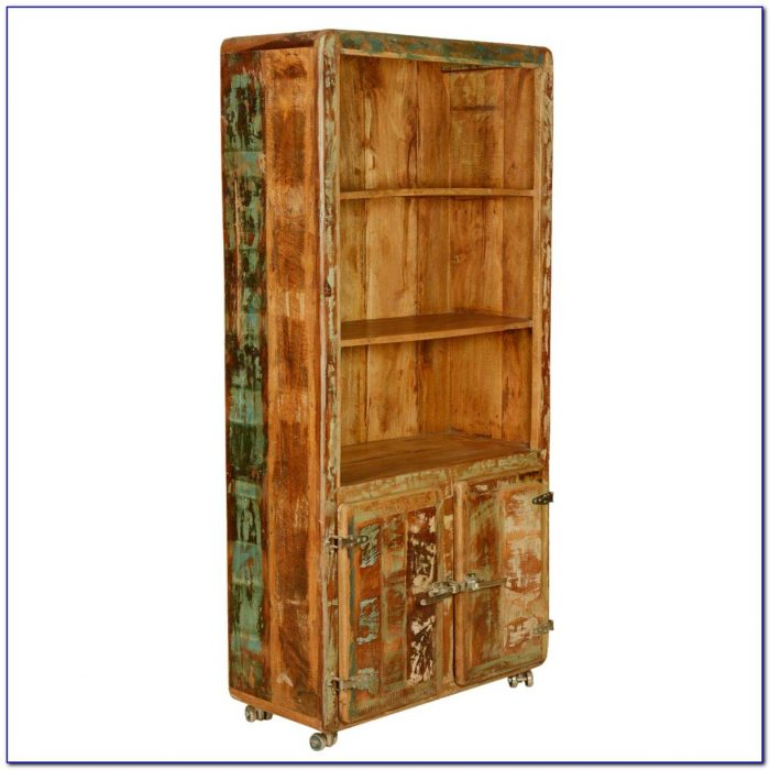 Reclaimed Wood Bookcase Uk