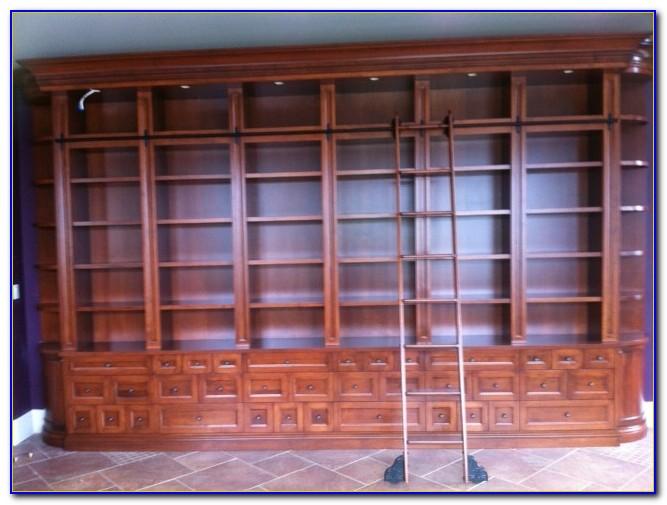 Rolling Bookshelf Ladder Hardware