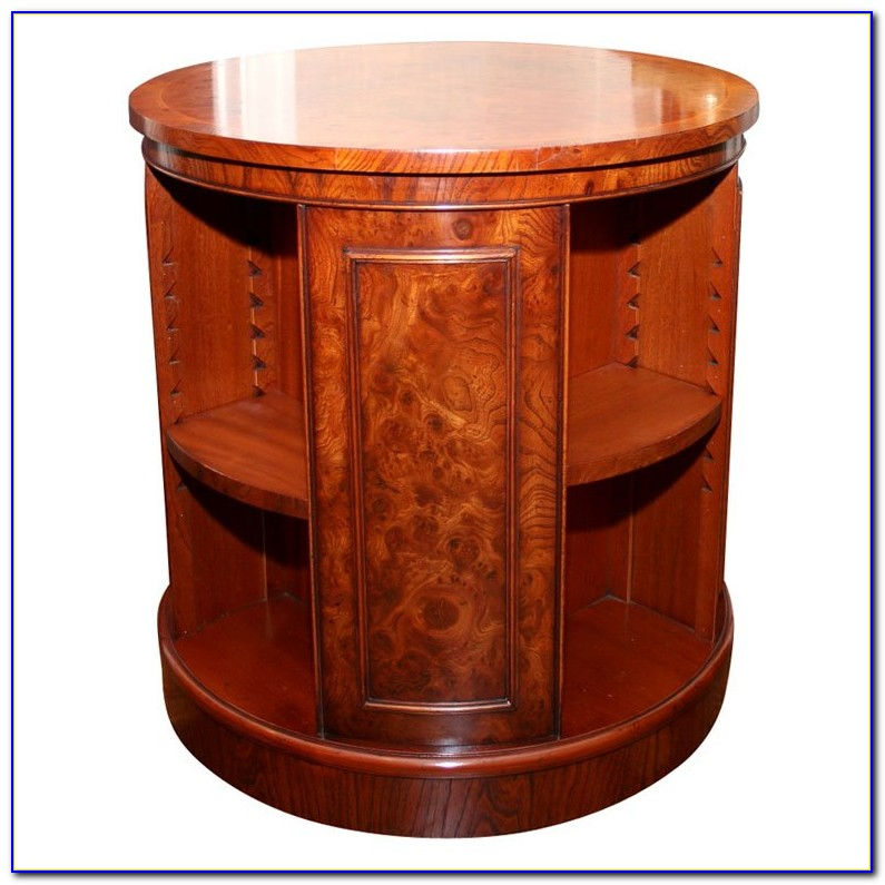 Rotating Bookcase Table