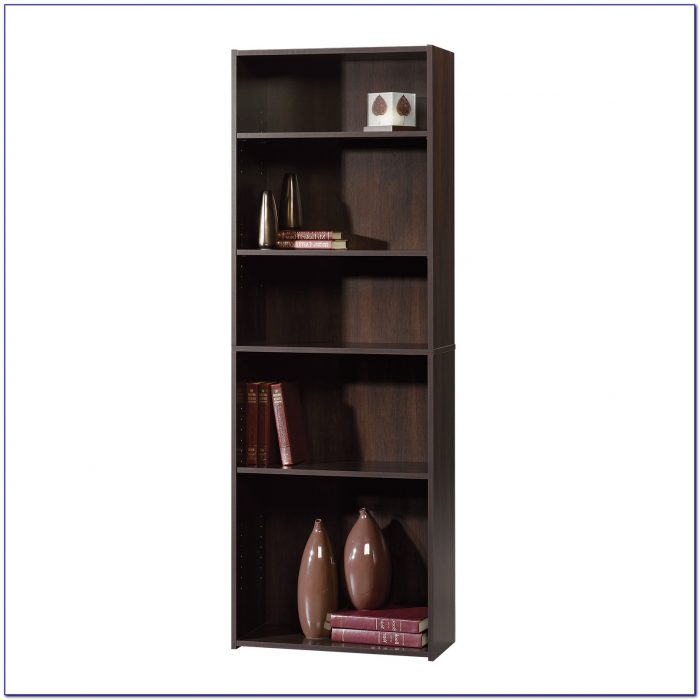 Sauder Beginnings 5 Shelf Bookcase Soft White