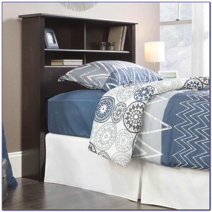 Sauder County Line Bookcase Headboard