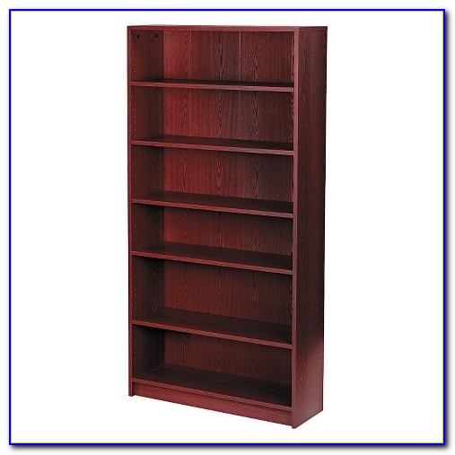 Savannah Six Shelf Bookcase With Drawer And Wood Doors