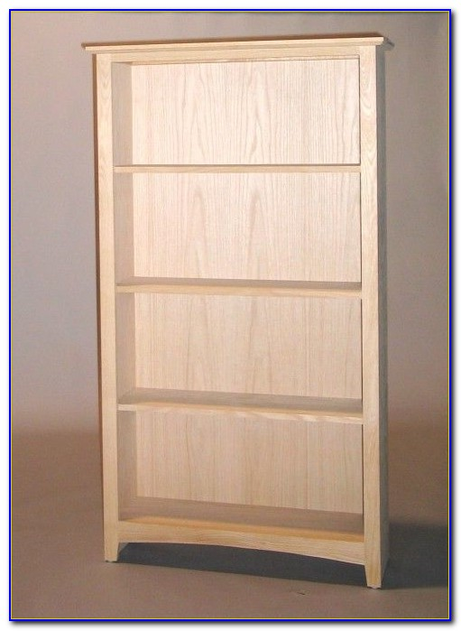 Shaker Style Low Bookcase