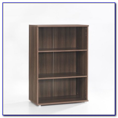 Short Bookshelf With Doors