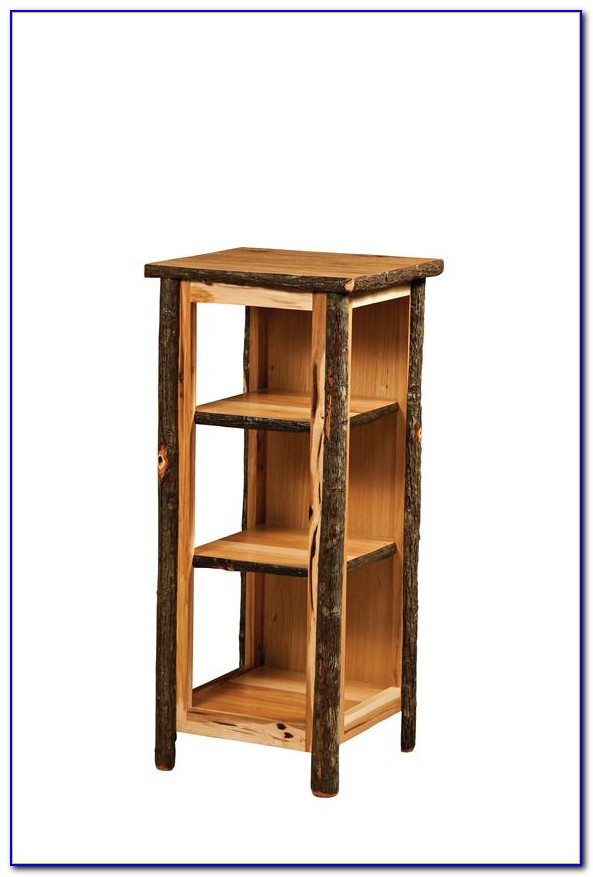Side End Table Bookcase Cabinet