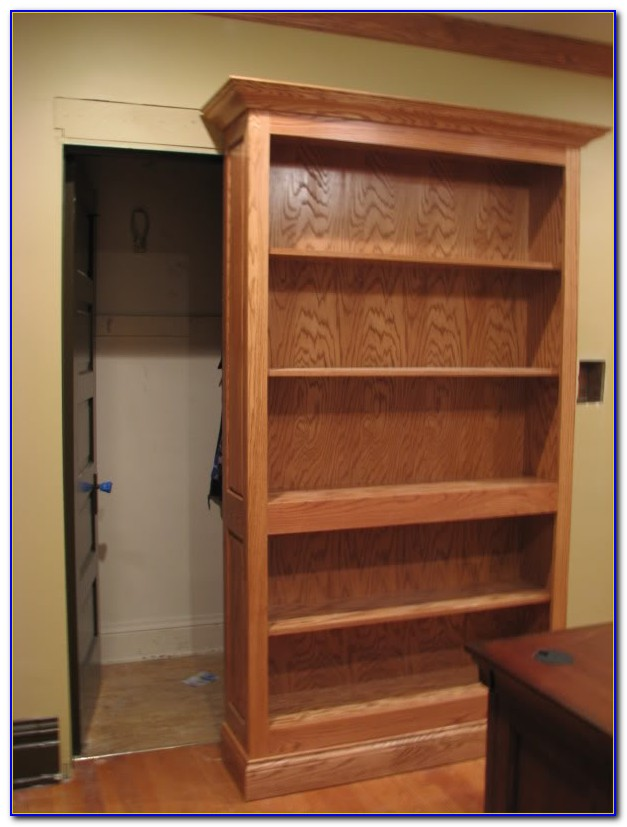 Sliding Bookcase Hidden Door