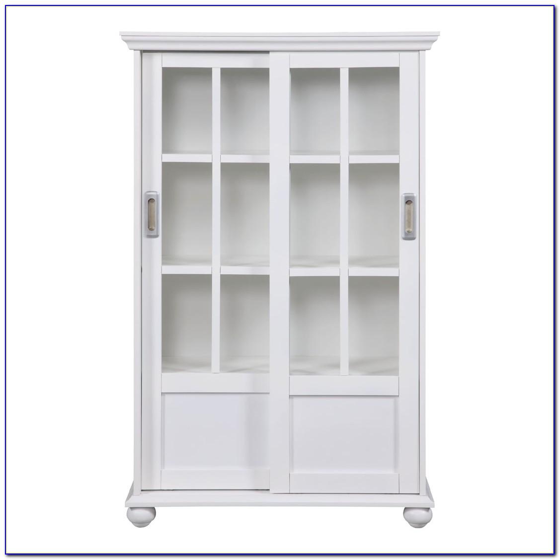 Sliding Glass Door Bookshelf