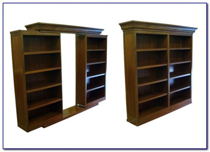 Sliding Hidden Bookshelf Door