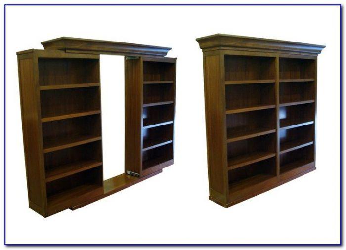 Sliding Hidden Bookshelf Door