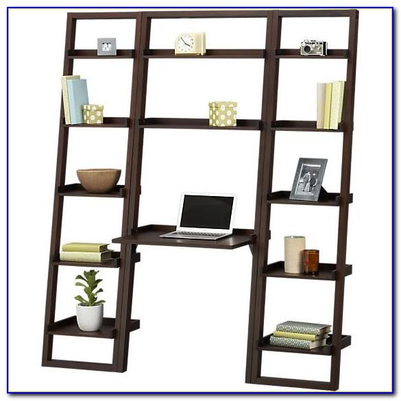 Sloane Grey Leaning Bookcase