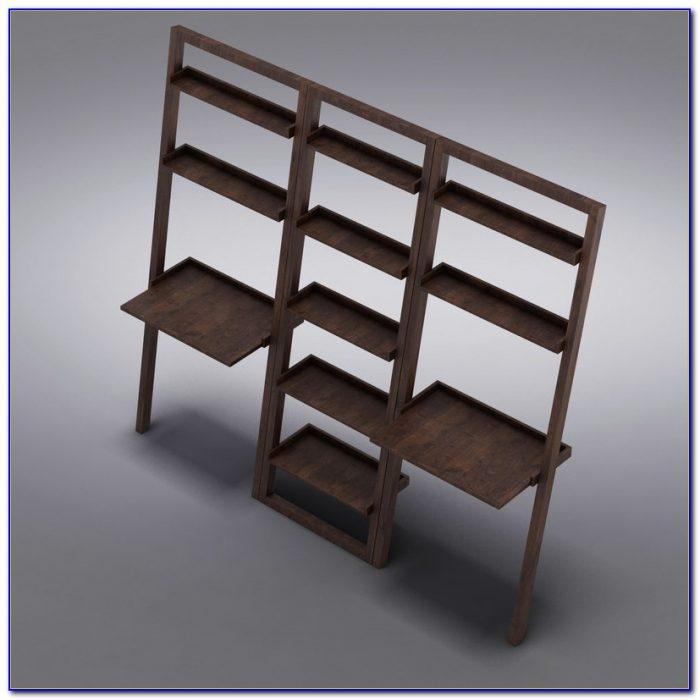 Sloane Java Leaning Bookcase