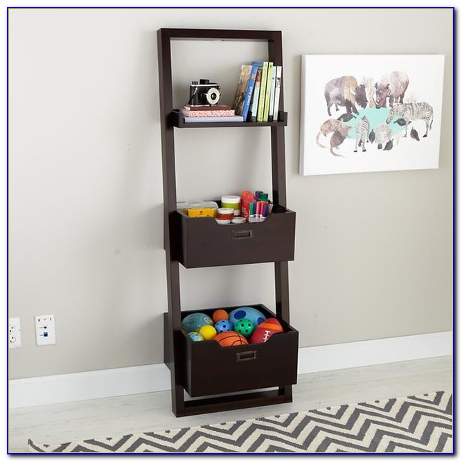 Sloane Leaning Bookcase Dimensions