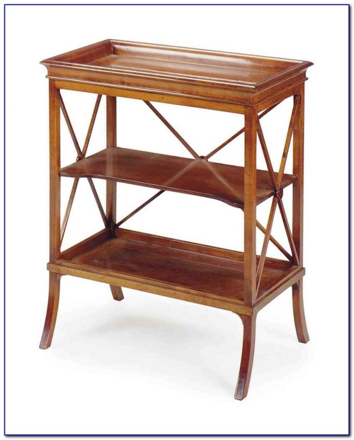 Small Bookcase Side Table